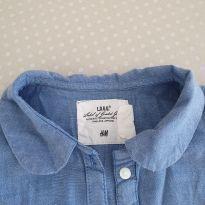 Camisa jeans - 3 anos - H&M