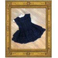 Vestido veludo da Liu - 2 anos - Momi