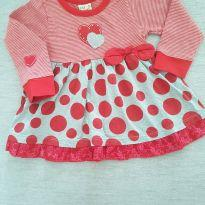 Vestido Poá Vermelho - 2 anos - Have Fun