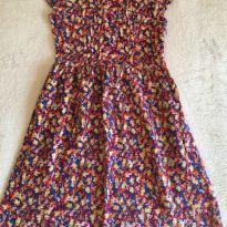 Vestido florzinhas - 8 anos - Leader