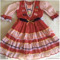 Vestido Festa Junina - 10 anos - Outras