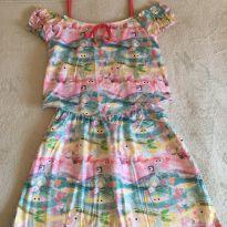 Vestido Alphabeto - 10 anos - Alphabeto