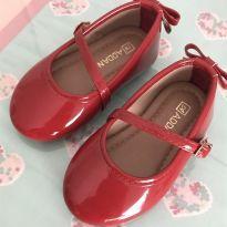 Sapatinho vermelho lacinho - 19 - Addan Baby