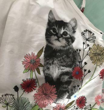 Body / bata gatinho linda - 3 a 6 meses - Baby Gap