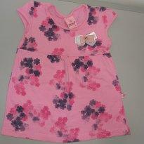 Vestido Rosa Abrange Tam 3 - 3 anos - Abrange