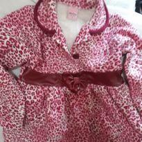 Blusa onca rosa serelepe - 4 anos - Serelepe