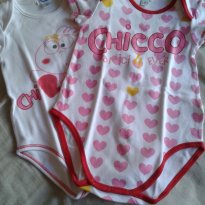 02 body Chicco - 18 meses - Chicco