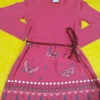 Vestido Meia Estação Vibrante Malwee com Cinto! - 5 anos - Malwee