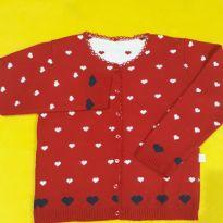 Blusinha de Lã, de botões de coração, um charme! - 5 anos - Outras