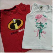 Duas camisetas pelo preço de 1 - 6 anos - Diversas