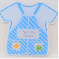 Convite Chá de Bebê - Menino 40 UNIDs- Mod 4 -  - Não informada