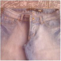Calça jeans fem TAM 38-Usada - P - 38 - clock house