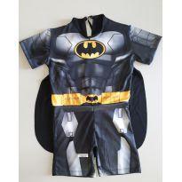 Fantasia Batman - tamanho 06 -  - Não informada