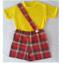Fantasia Cascão Infantil - tamanho 06 - 6 anos - Sem marca