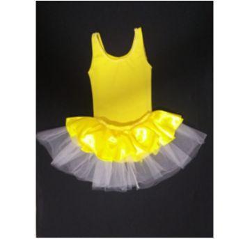 Fantasia Bela Bailarina com tiara decorada - Tamanho 6 - 6 anos - Sem marca