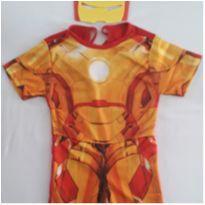 Fantasia Homem de Ferro - tamanho 02 - 2 anos - Sem marca