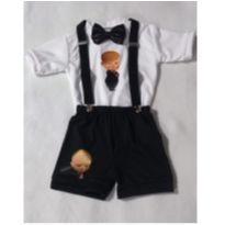 Fantasia Poderoso Chefinho Infantil - tamanho 04 - 3 anos - Sem marca