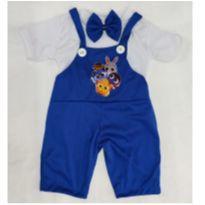 Fantasia Bolofofo infantil - tamanho 2 - 2 anos - Sem marca