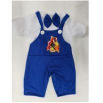 Fantasia Backyardigans infantil - tamanho 4 - 4 anos - Sem marca