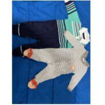 Macacão (02 charmosos) - 3 a 6 meses - Tip Top e Noruega Baby