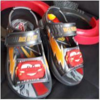 Sandália do Relâmpago McQueen - 23 - Carros e Grendene