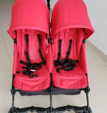 Carrinho de gêmeos - Sem faixa etaria - Peg Pérego
