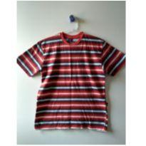 Camiseta HERING KIDS listrada - 12 anos - Hering Kids