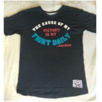 Camiseta azul marinho com estampa - 12 anos - Hommer Numbers Collection