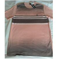 Camiseta rosa degradê - 14 anos - Rovitex