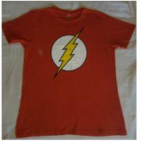 Camiseta do Flash - 12 anos - DC Comics e bandUP