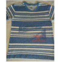 Camiseta PUC  listrada com desenho - 10 anos - PUC