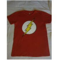 Camiseta Flash Suupeer Nova - 12 anos - DC Comics e bandUP