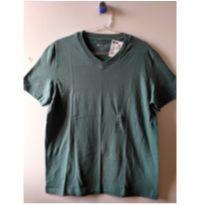 Camiseta Hering Nova verde musgo - 13 anos - Hering