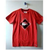 Camiseta Lacoste Sport vermelha nova - 14 anos - Lacoste