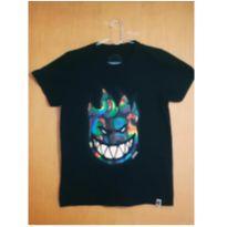 Camiseta preta Spiritfire com estampa divertida - 12 anos - Spiritfire