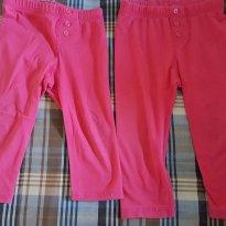 Legging Rosa Basica - 12 a 18 meses - Baby Gap