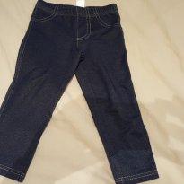 Legging malha jeans - 2 anos - Carter`s