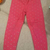Legging ! Rosa - 2 anos - Carter`s