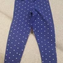 Legging Carters Azul - Fofa! - 2 anos - Carter`s