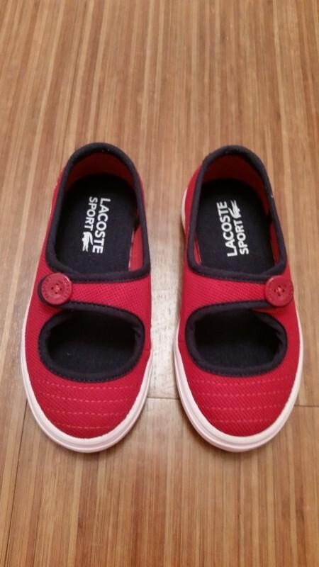 4b7c4a893bddc Sapatilha Lacoste 21 no Ficou Pequeno - Desapegos de Sapatos quase ...