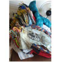Roupas usadas Para Bazar Infantil 50 Peças Sortidas Cod 4 - 13 anos - Variados