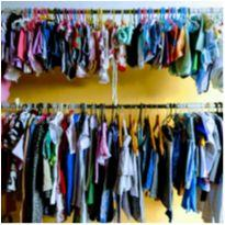 Fardo Para Brechó Infantil 150 Peças Sortidas Cod 5 - 13 anos - Variadas