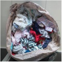 Fardo Para Brechó Bebê 50 Peças - Somente Bebê 0-6 Meses - 0 a 3 meses - Não informada