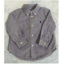 Camisa Listrada Ralph Lauren - 2 anos - Ralph Lauren