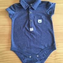 Body com golinha - 9 a 12 meses - Baby Club