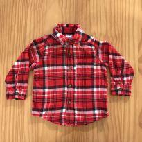 Camisa xadrez flanelada - 1 ano - Carter`s