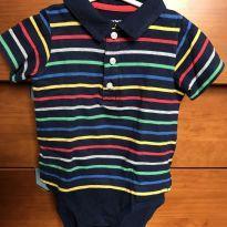 Body Carter`s com camiseta por cima - 2 anos - Carter`s