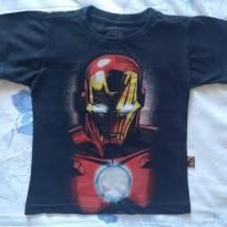 Blusa malha Homem de ferro - Marvel - Tam 3 - 3 anos - MARVEL