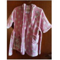 Roupão manta rosa - TAM 1 a 3 anos - 24 a 36 meses - Lepper