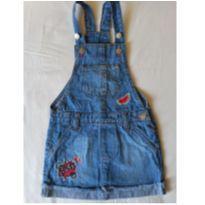 Jardineira Jeans TAM 4 - 4 anos - marisa
